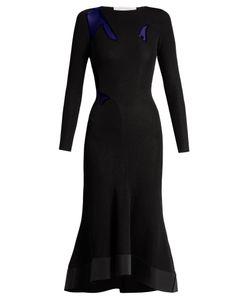 ESTEBAN CORTÁZAR | Sheer-Insert Jersey Gown