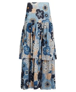 Chloé | Tieredprint Maxi Skirt