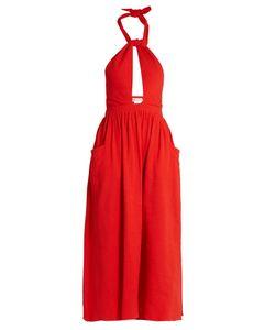 Mara Hoffman   Knot-Front Cotton Dress