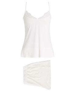 HANRO | Greta Lace-Trimmed Pyjama Set