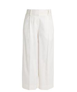 Diane von Furstenberg | High-Rise Linen-Blend Culottes