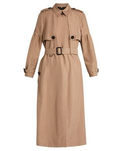Burberry | Maythorne Mulberry-Silk Trench Coat