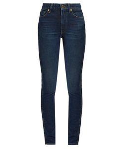 Khaite | Vanessa High-Rise Straight-Leg Jeans