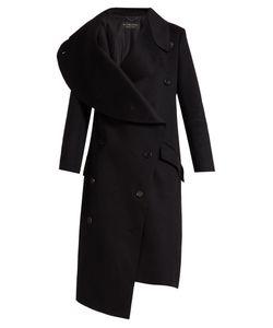 Burberry | Asymmetric Double-Faced Wool Coat