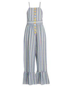 See by Chloé | Striped Seersucker Jumpsuit