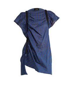 Rachel Comey | Studio Banker-Striped Cotton-Blend Top