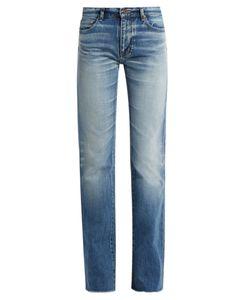 Saint Laurent | Mid-Rise Fla Jeans
