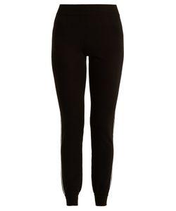 Fendi | Mid-Rise Wool Track Pants