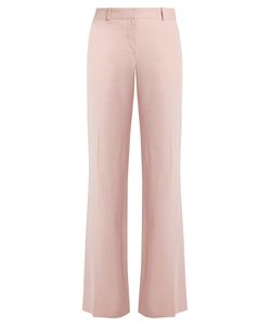 Bella Freud   Isaac Wide-Leg Cotton-Blend Trousers