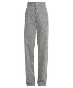 Chloé | Wide-Leg Striped Trousers