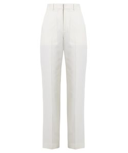 Chloé | Straight-Leg Wool And Cotton-Blend Twill Trousers
