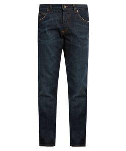 Dolce & Gabbana | Badge-Appliqué Five-Pocket Slim Jeans