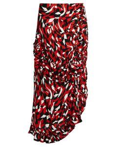 Marni | Shatter-Print Sable Midi-Skirt