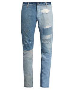 Longjourney | T2 Cotton-Denim Slim-Leg Jeans