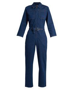 A.P.C. | Truck Cotton-Denim Jumpsuit