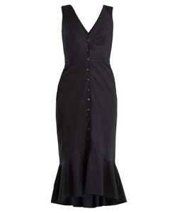 Saloni | Zoey Stretch-Cotton Dress