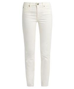 M.i.h Jeans | Daily Raw-Hem High-Rise Slim-Leg Jeans