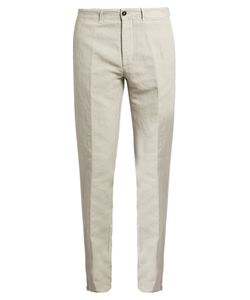 Massimo Alba | Winch Linen-Blend Trousers