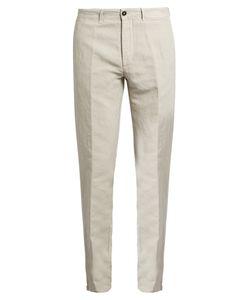 Massimo Alba | Winch Linen-Blend Trousers