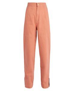 Isabel Marant | Elwood High-Rise Denim Peg-Leg Trousers