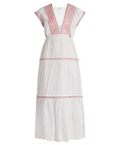 DAFT | Bodrum Embroidered-Cotton Dress