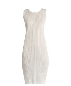 Pleats Please By Issey Miyake | Sleeveless Pleated Dress