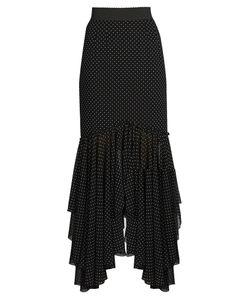 Dolce & Gabbana | Asymmetric-Hemline Polka-Dot Print Skirt