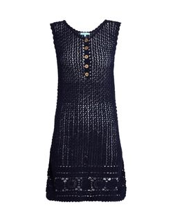 Melissa Odabash | Cheyenne Sleeveless Crochet-Cotton Dress