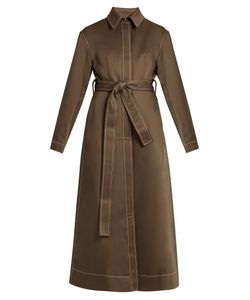 Ellery   Disciple Single-Breasted Twill Trench Coat