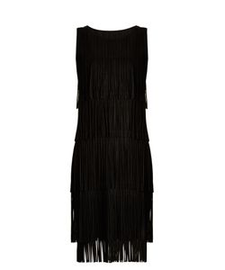 Pleats Please By Issey Miyake | Tiered-Fringe Sleeveless Pleated Dress