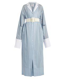 Rosie Assoulin | Schloppy Joe Belted Cotton And Silk-Blend Dress