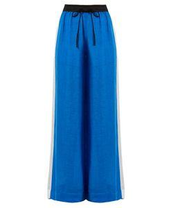 Diane von Furstenberg | Wide-Leg Linen-Blend Trousers