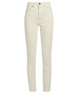 Khaite | Vanessa High-Rise Slim-Leg Jeans