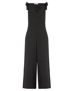 See by Chloé | V-Neck Stretch-Crepe Jumpsuit