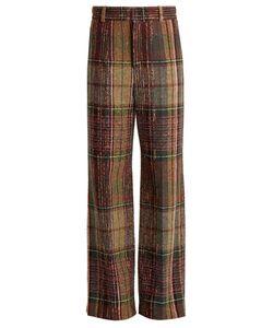 Chloé | Wide-Leg Wool-Blend Tweed Trousers