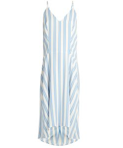 Balenciaga | Striped Cady Slip Dress