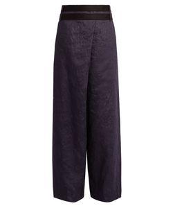 AMANDA WAKELEY | Echo Wide-Leg Trousers