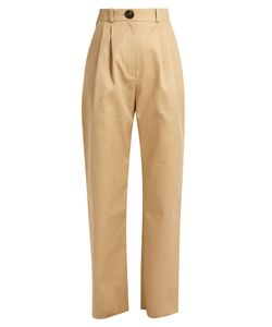 A.W.A.K.E. | High-Rise Cotton Chino Trousers