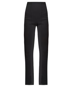 Balmain | High-Rise Skinny-Leg Trousers