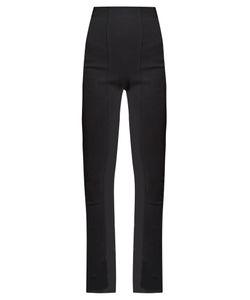Balmain | High-Rise Skinny-Leg Trousers
