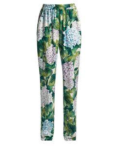 Dolce & Gabbana | Ortensia-Print Charmeuse Pyjama Trousers