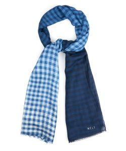 Melt | Krishna Checked Cashmere Scarf