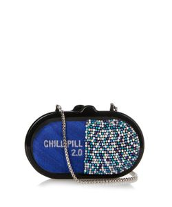 Sarah's Bag | Chill Pill Embellished Clutch