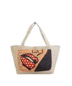 Sarah's Bag | Pop Art Print Canvas Tote