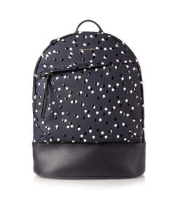 Want Les Essentiels De La Vie | Kasturp Printed Leather Backpack