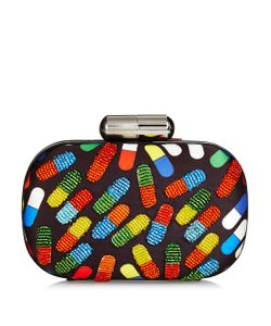 Sarah's Bag | Pop Pill Bead-Embellished Box Clutch