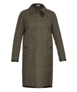 Cerruti 1881 Paris | Prince Of Wales-Check Bonded Coat