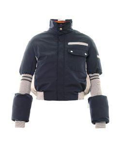 Thomas Tait | Bi-Colour Quilted Ski Jacket