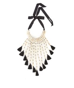 Figue | Oceane Shell And Tassel Necklace