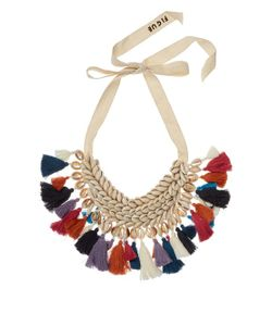 Figue | Leta Shell And Tassel Necklace